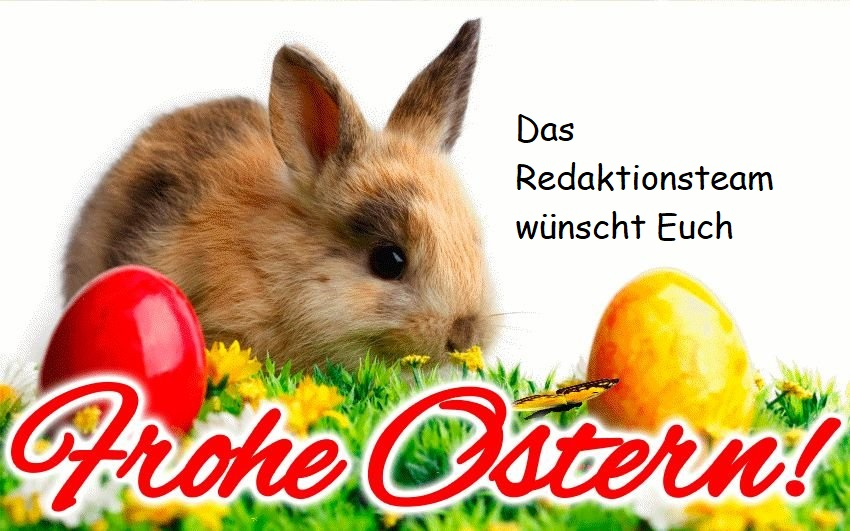 Frohe Ostern…